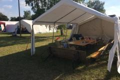 Zeltlager-Versorgung